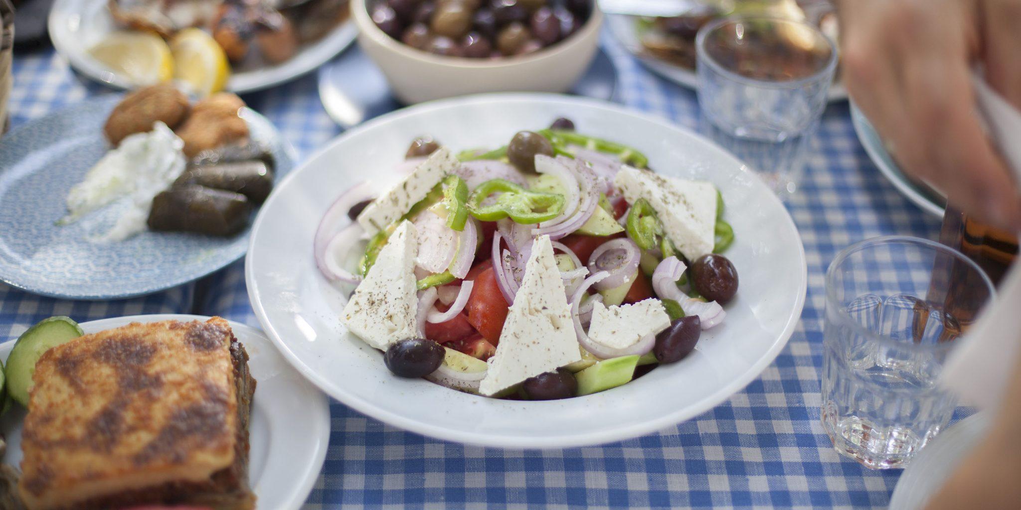 Klasyka gatunku – sałatka grecka