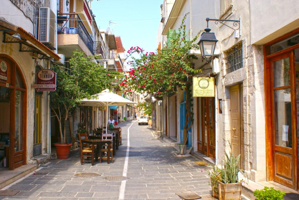 Rethymno, miasteczko na Krecie