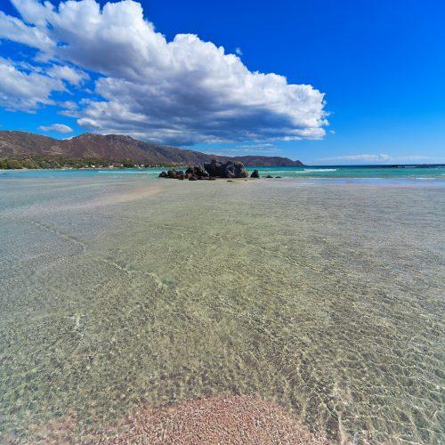 Plaża Elafonisi, Kreta