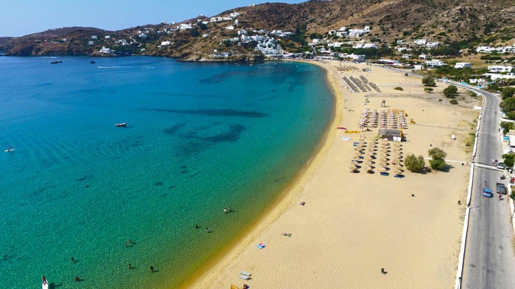 Plaża Mylopotas, Ios