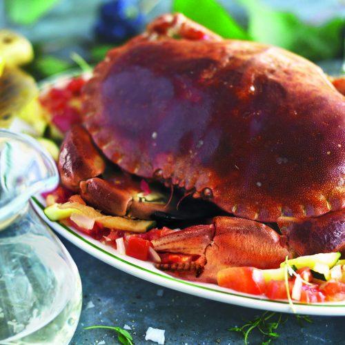Kraby z cukinią ze Skiathos
