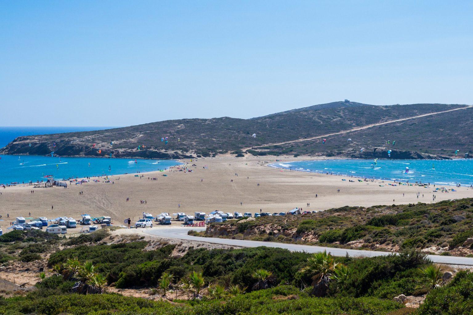 TOP plaże Grecji – najlepsze do sportów wodnych