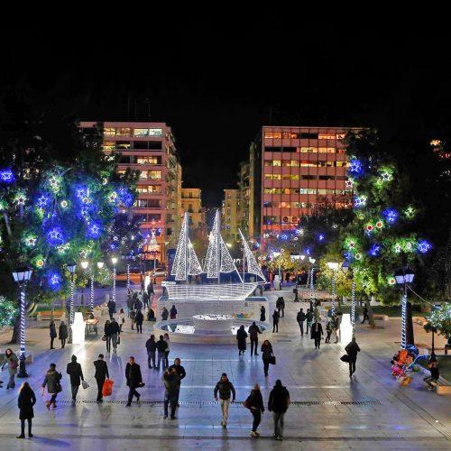 Plac Syntagma w Atenach w 2016 roku
