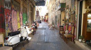 Jedna z ateńskich uliczek