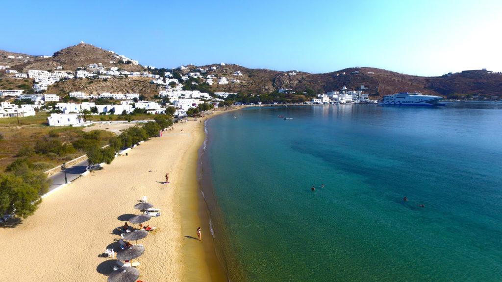Plaża Yialos, Ios