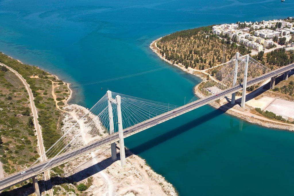 Nowy most w Chalkidzie