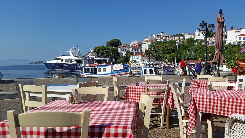 Port w Skiathos