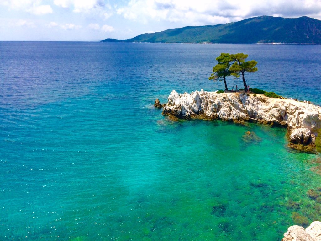 Przylądek Amarantos, Skopelos