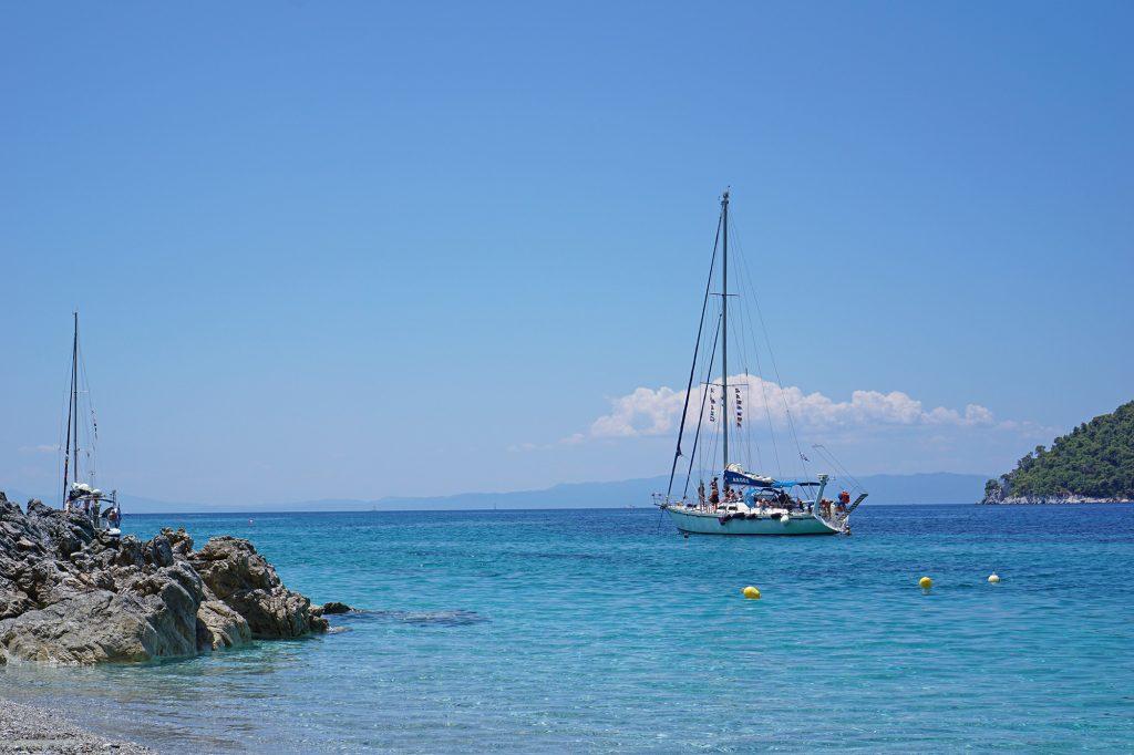 Plaża Kastani, Skopelos