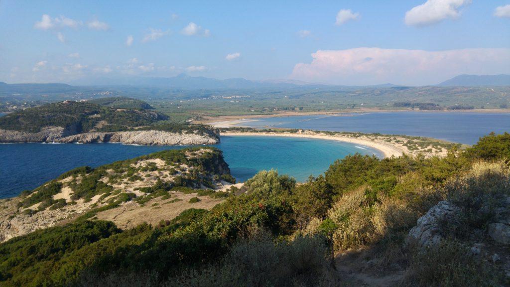 Plaża Voidokilia, Peloponez