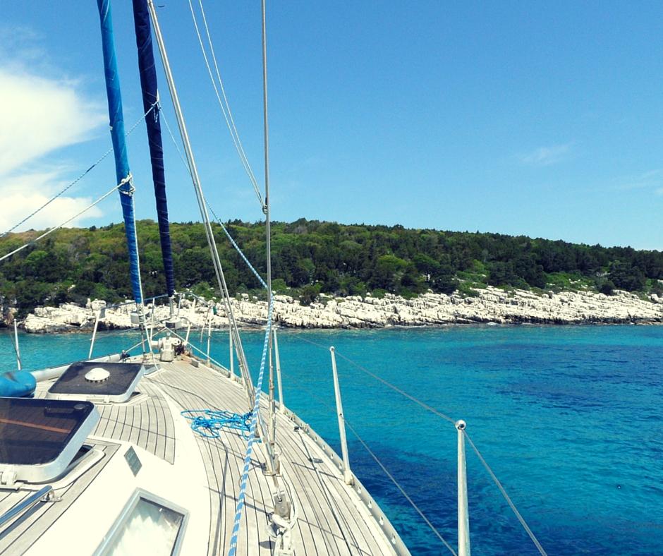 Życie z perspektywy jachtu