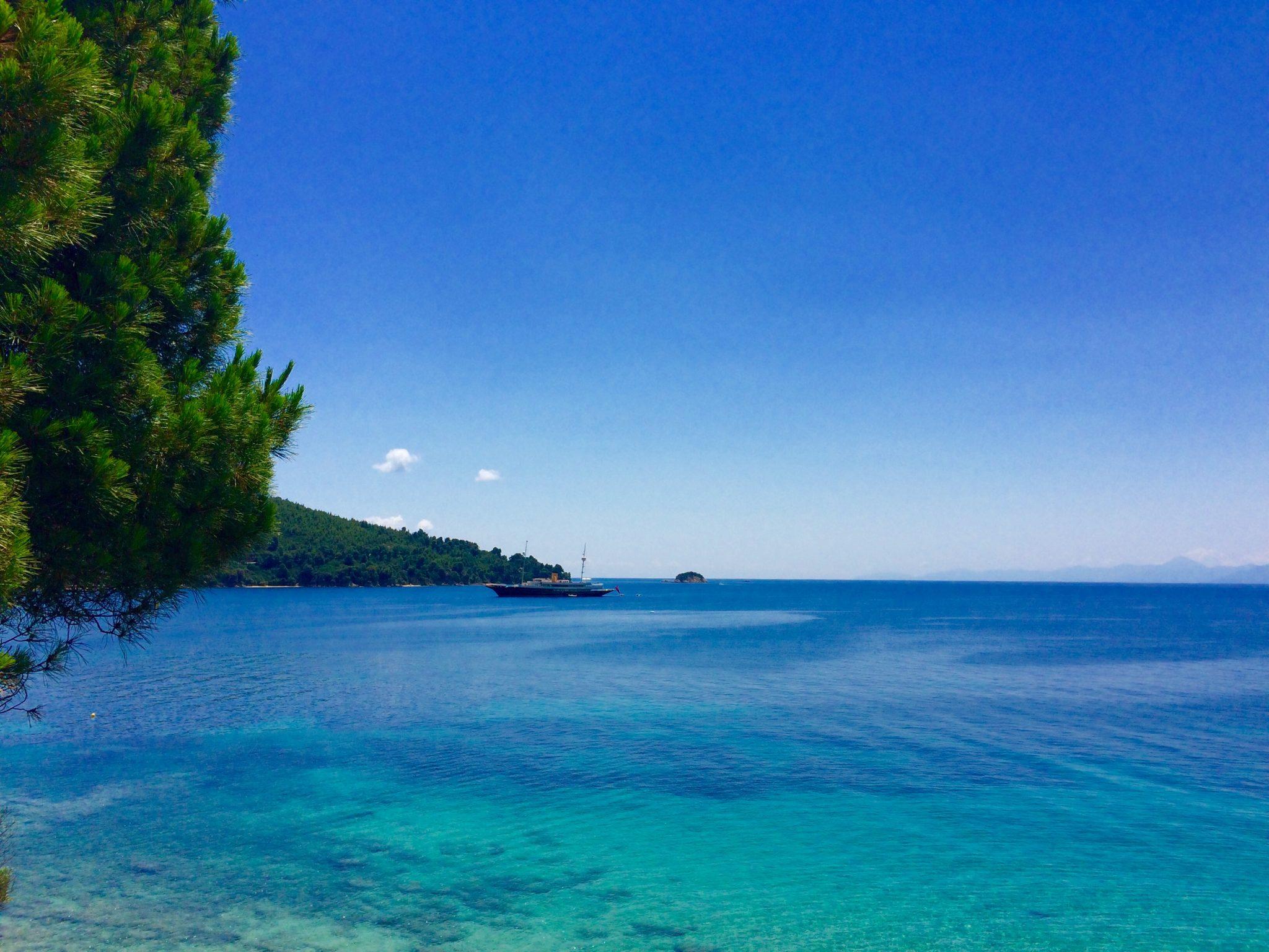 Morze na Skiathos