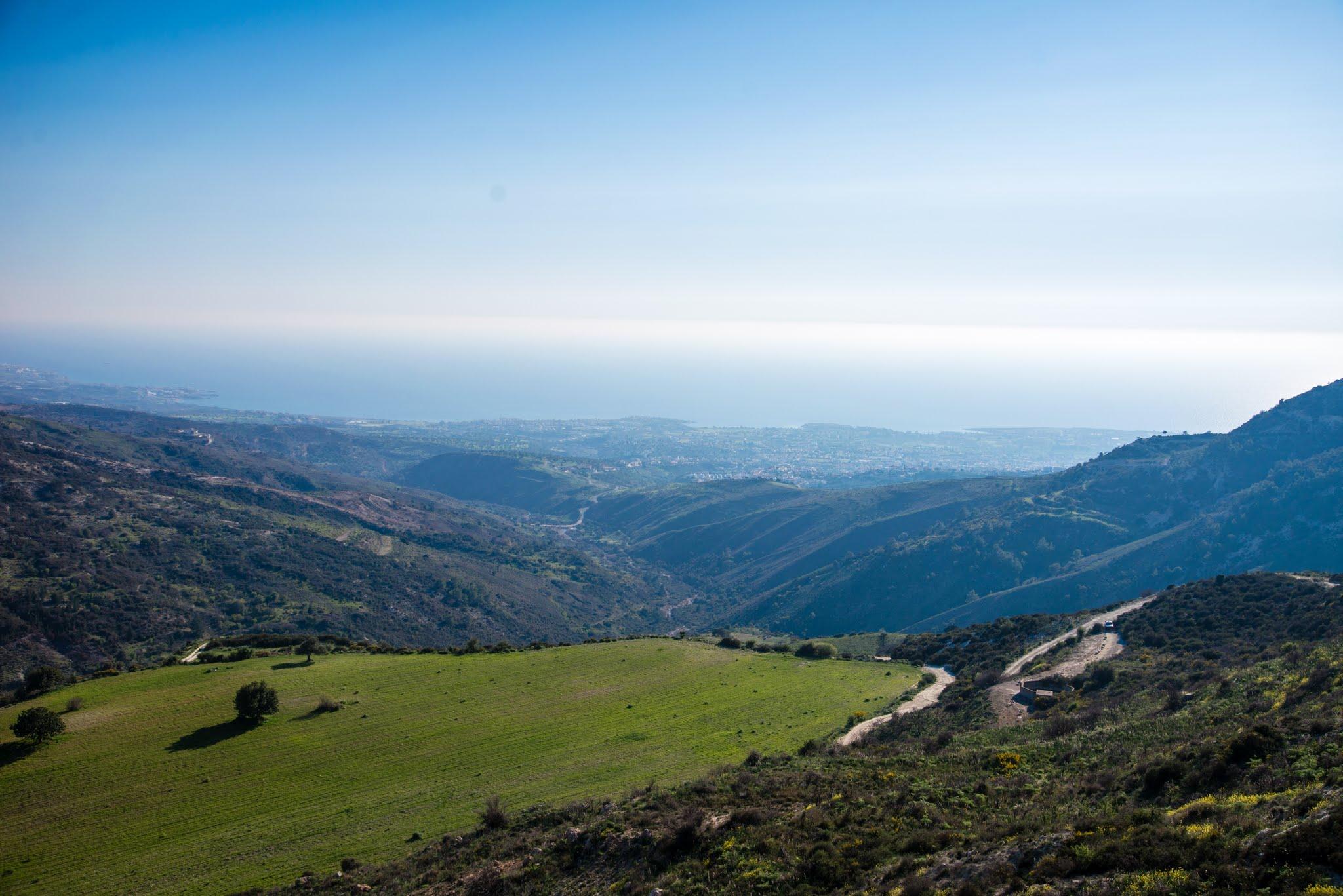 Krajobraz na Cyprze