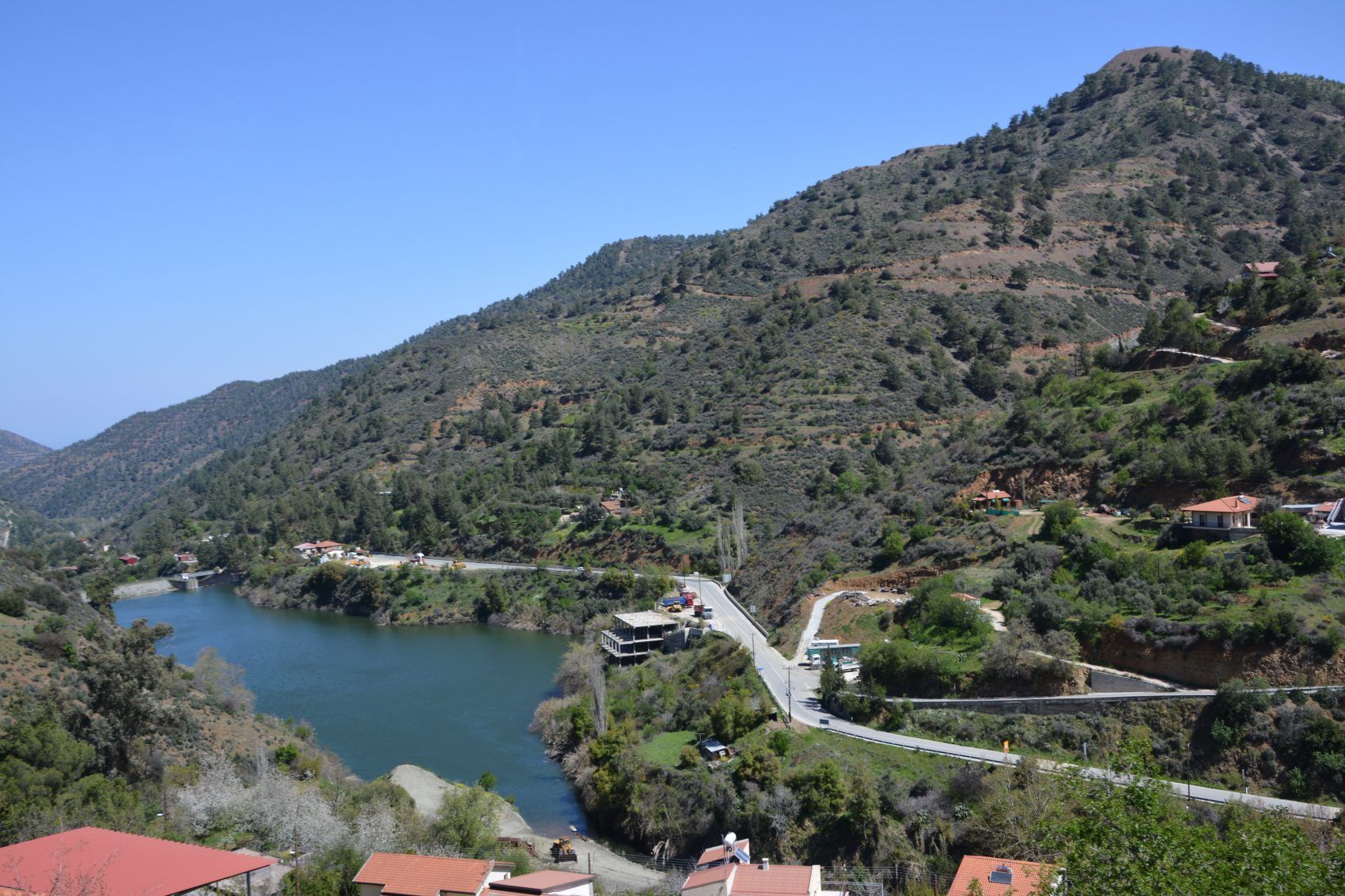Góry Troodos na Cyprze