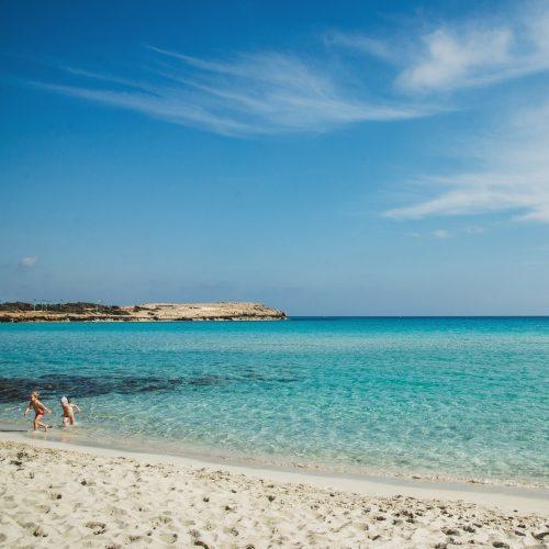 Nissi Beach na Cyprze