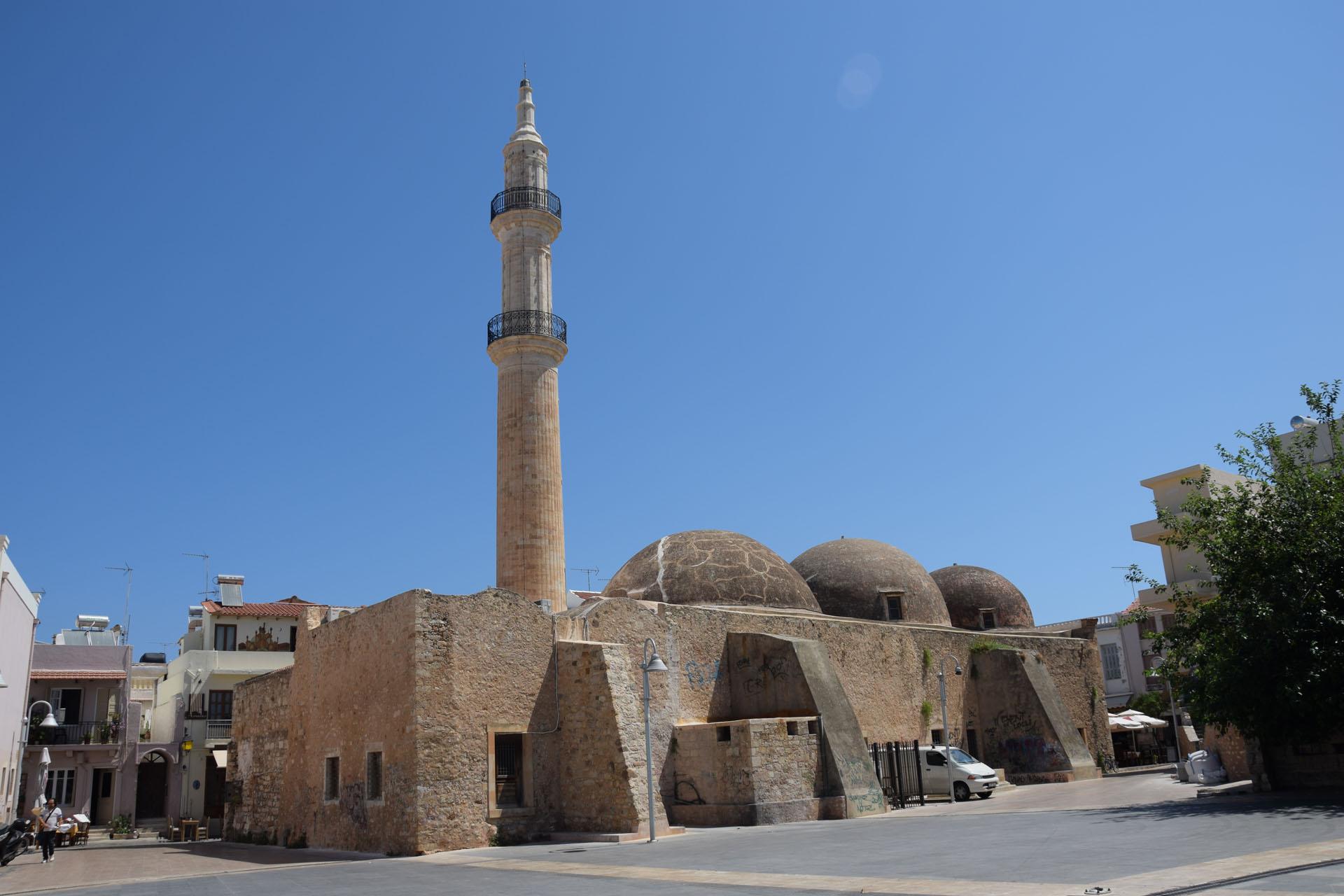 Rethymno - meczet Nerantze