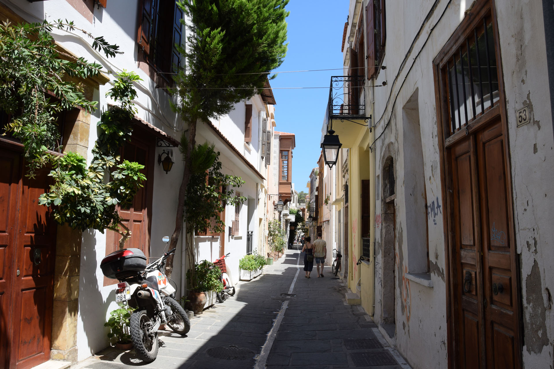 Rethymno - boczne uliczki
