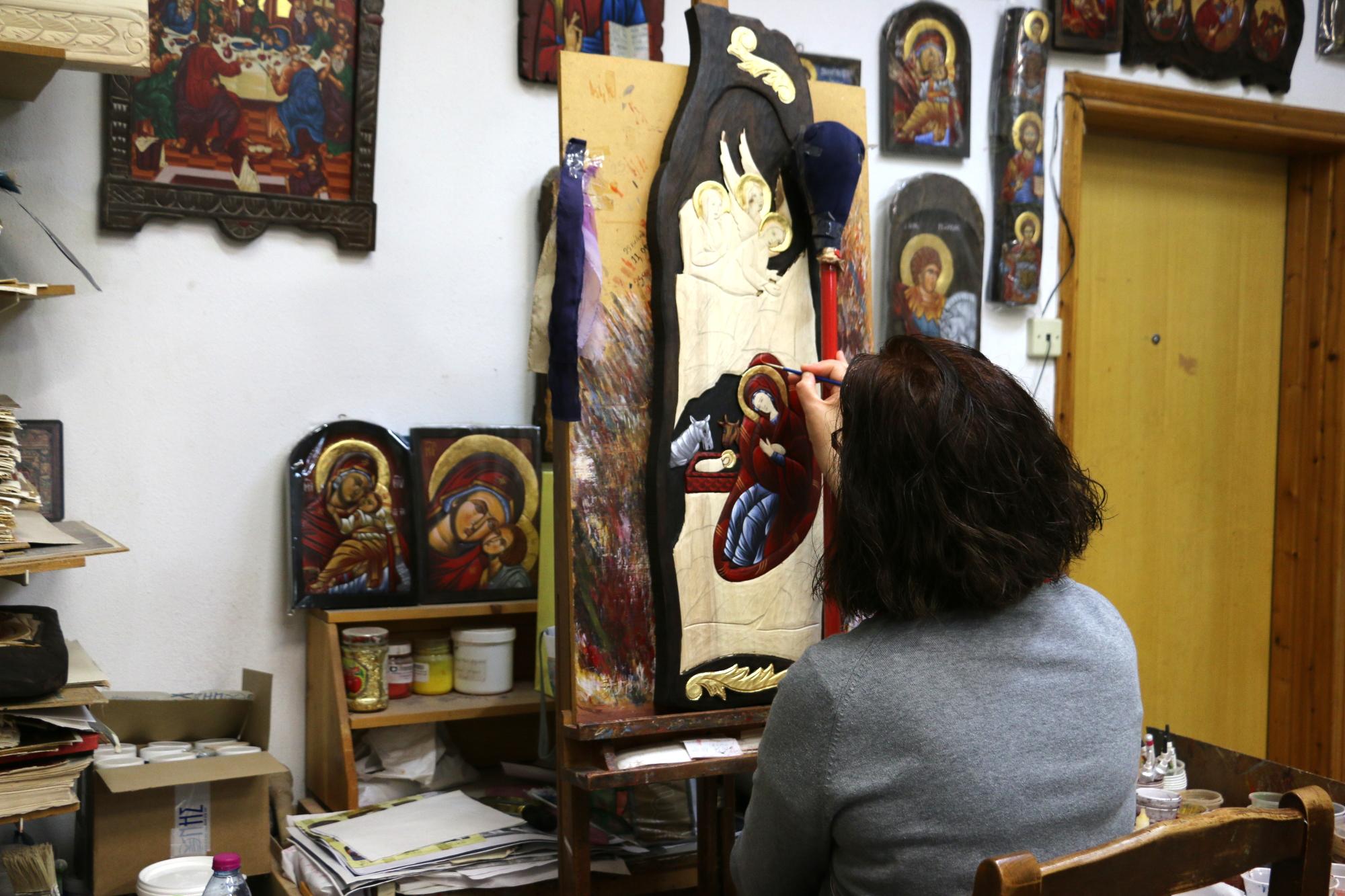 Pracownia ikon bizantyjskich