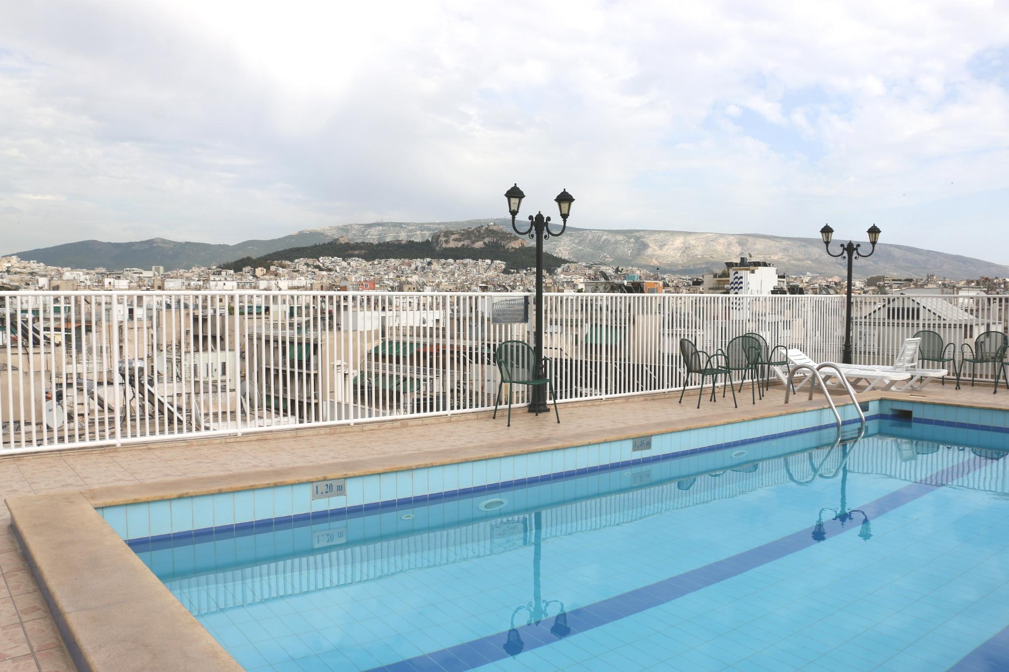 Hotel z widokiem na Ateny