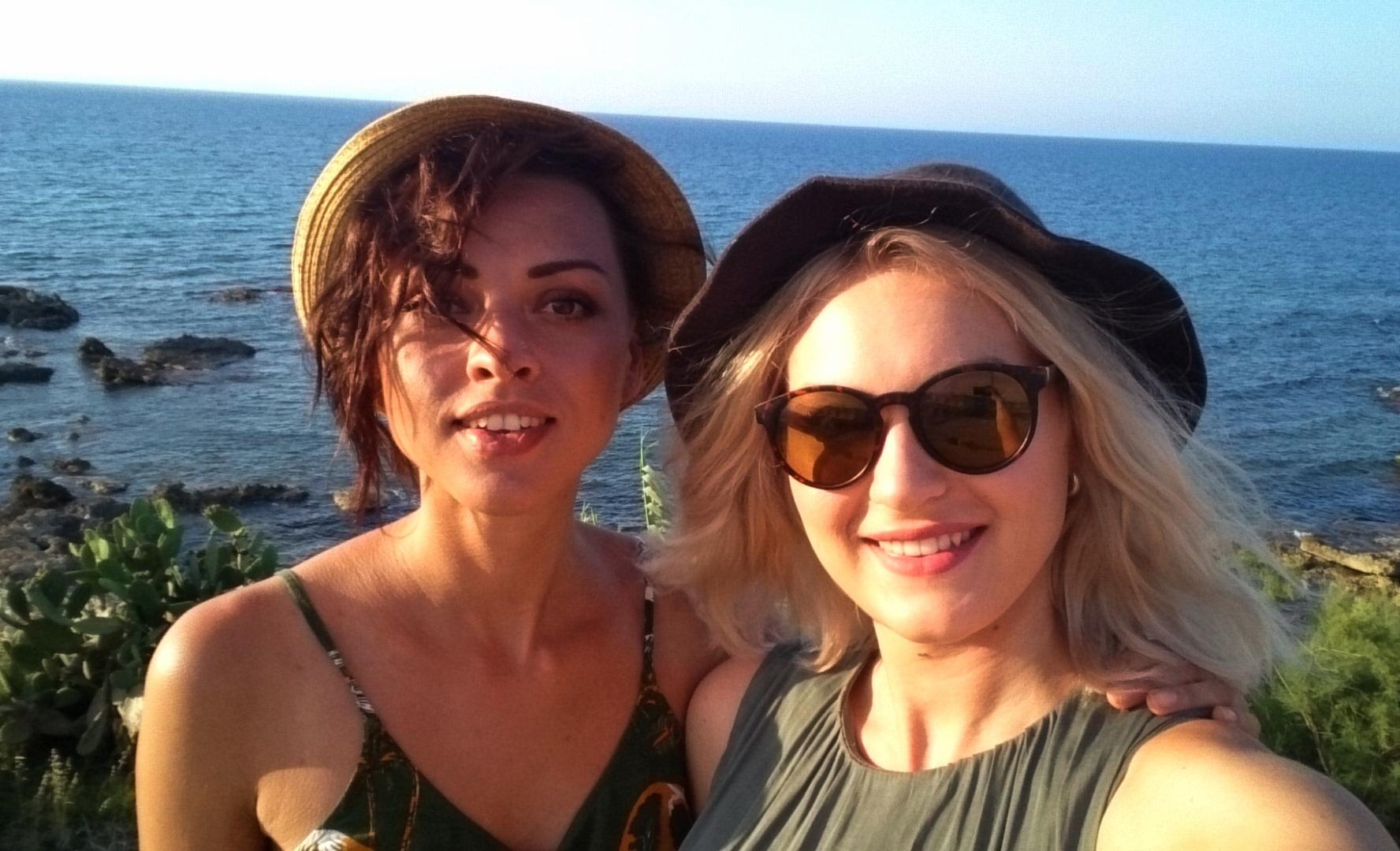 Selfie na Korfu