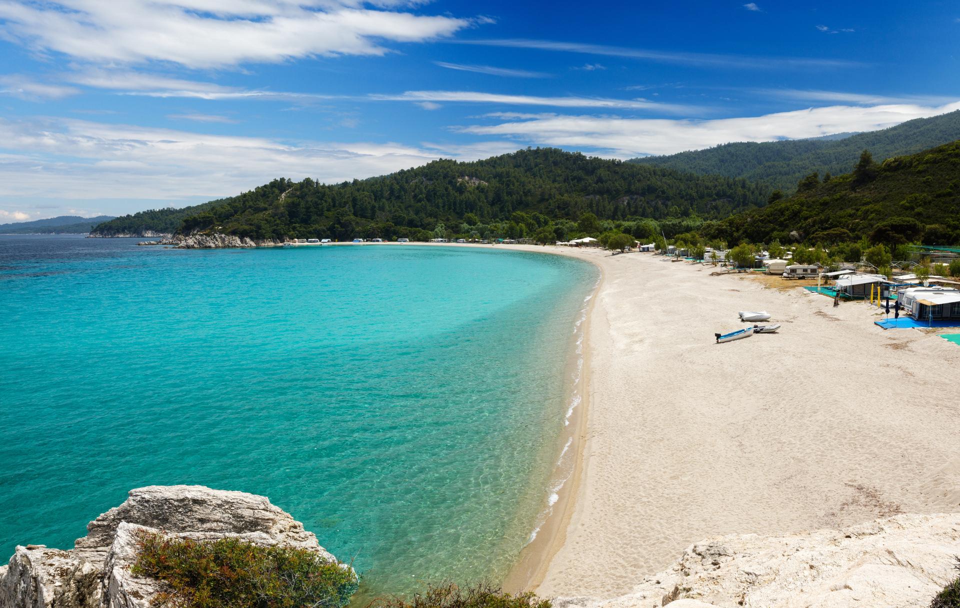Plaża Armenistis - Sithonia, Chalkidiki