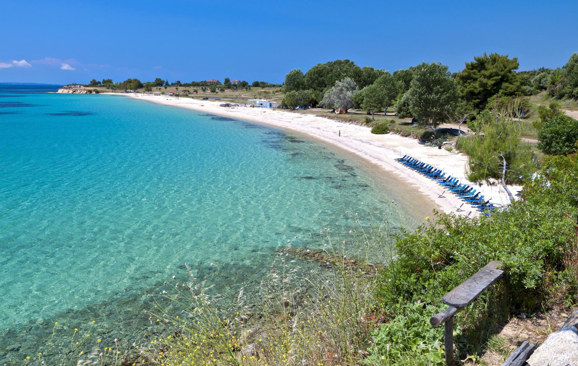 Plaża Agios Ioannis, Chalkidiki