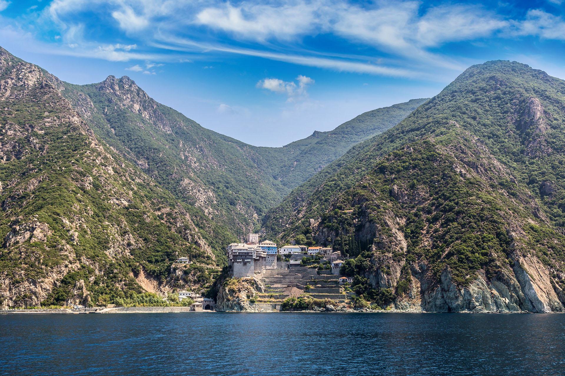 Klasztor św. Dionizego, Chalkidiki