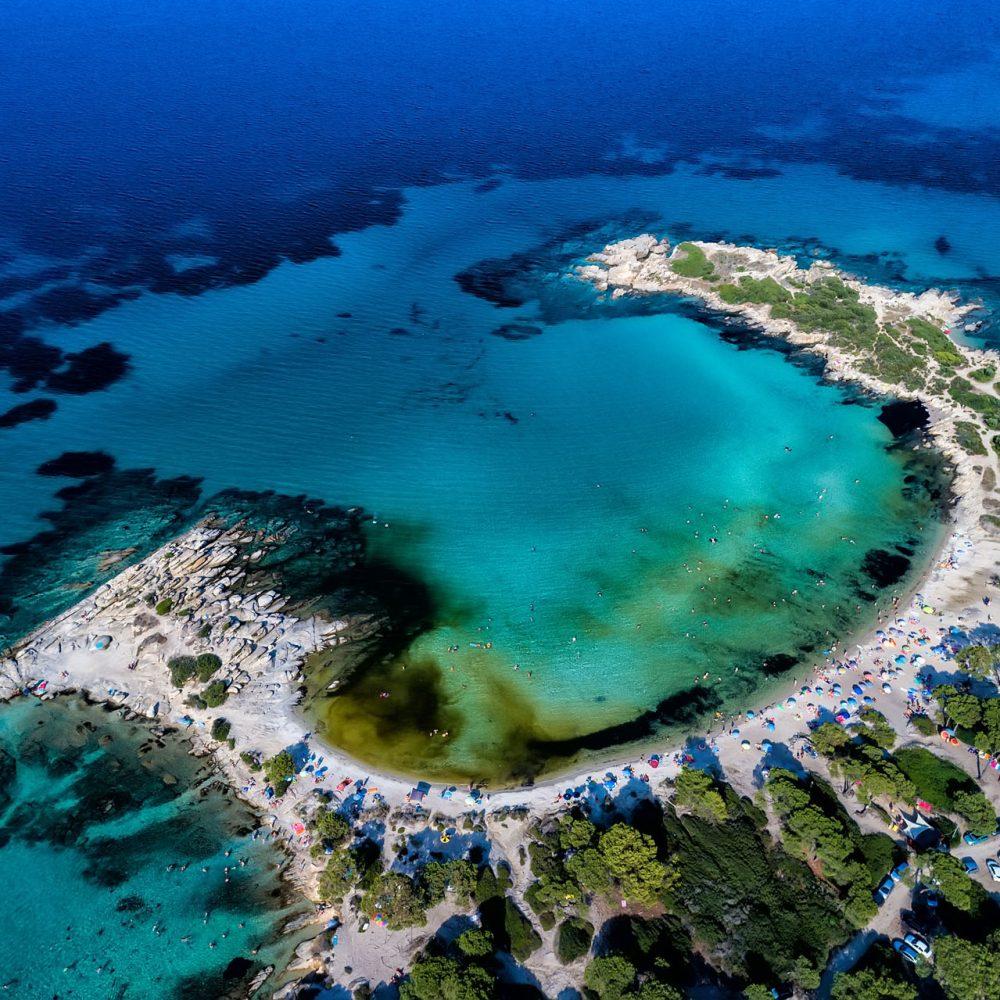 Plaża Karidi na Chalkidiki