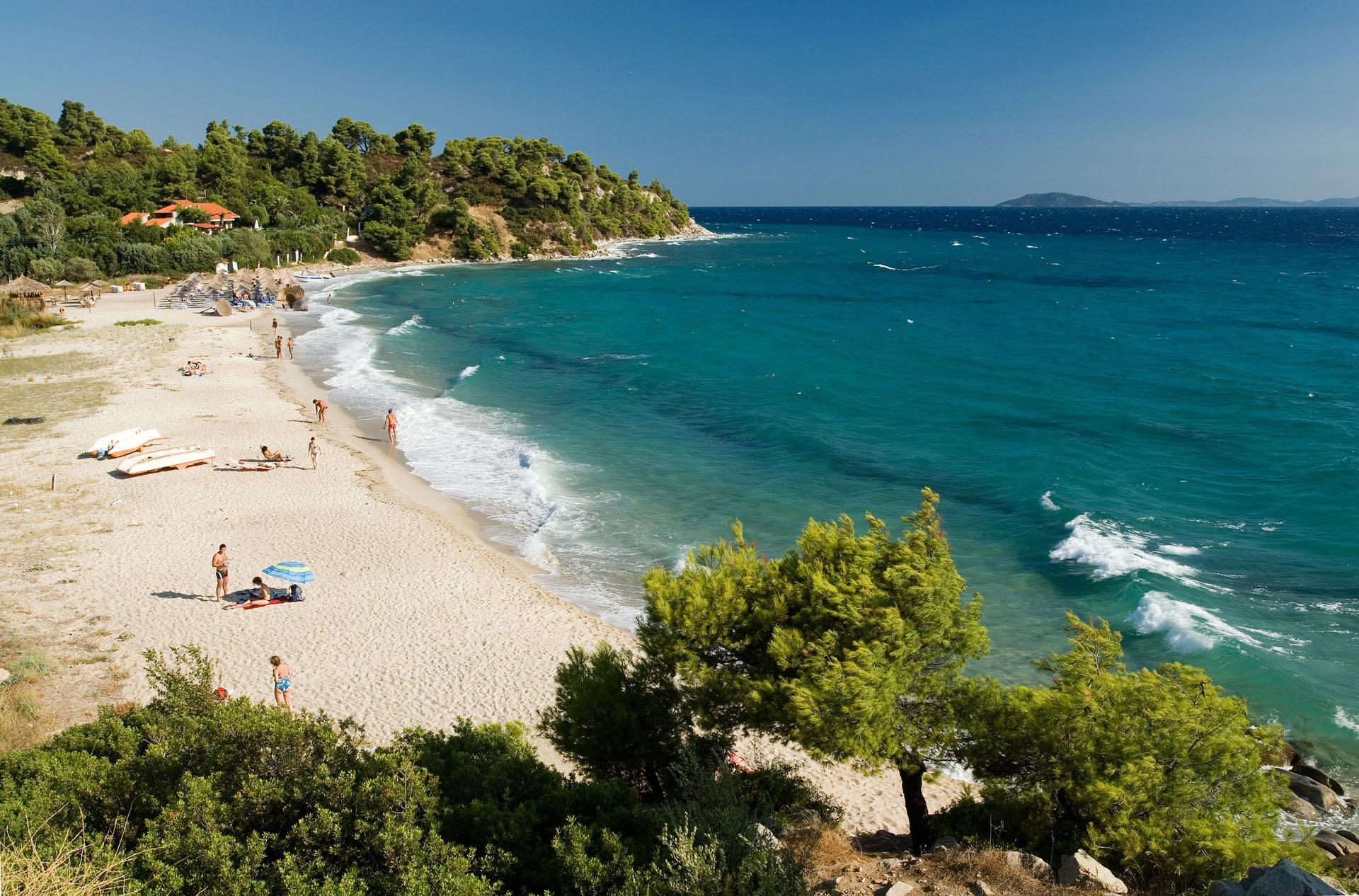 Plaża Koviou, Chalkidiki