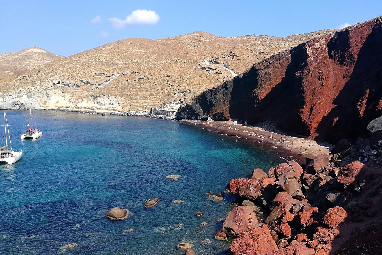Czerwona Plaża - Santorini