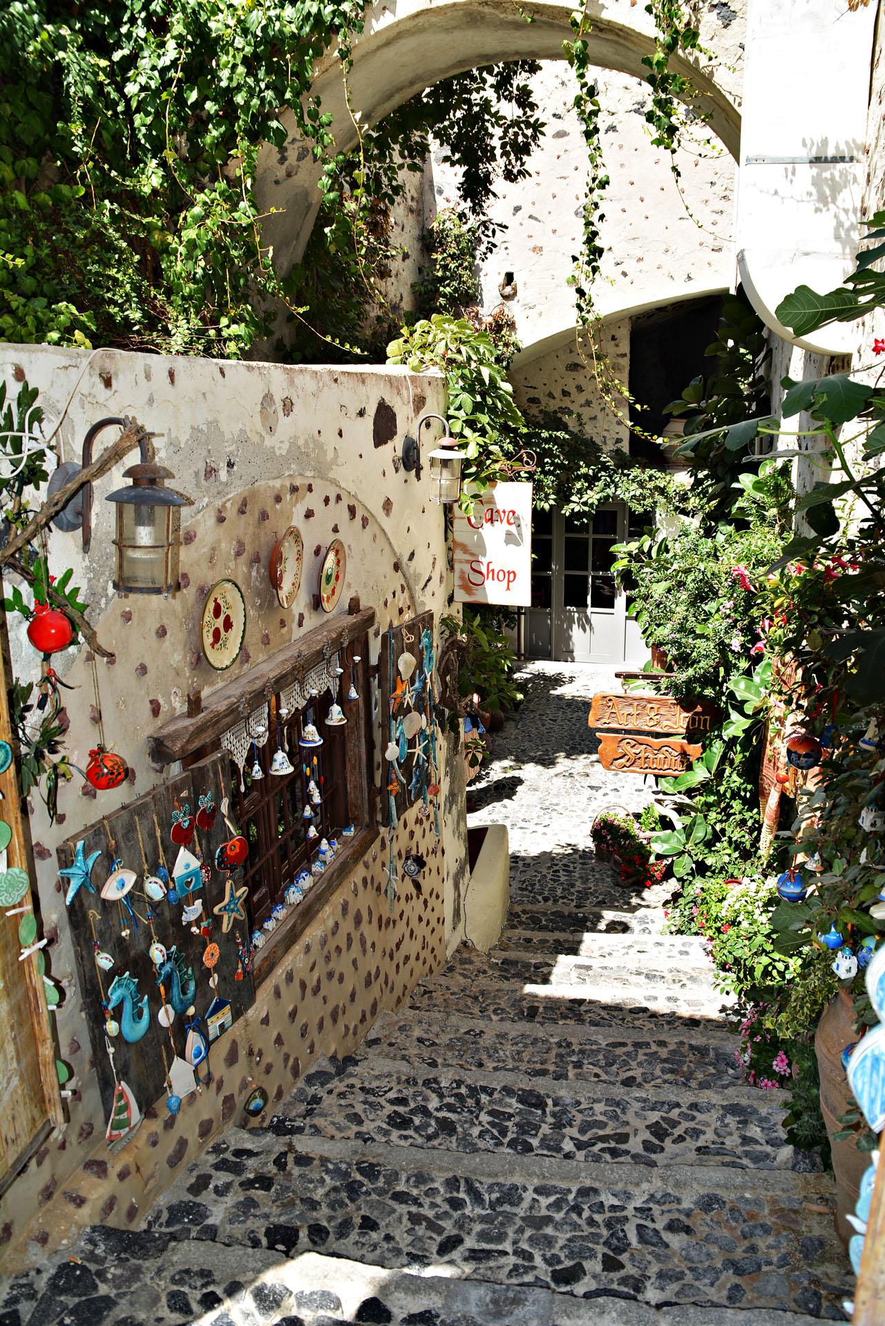 Santorini - rękodzieło