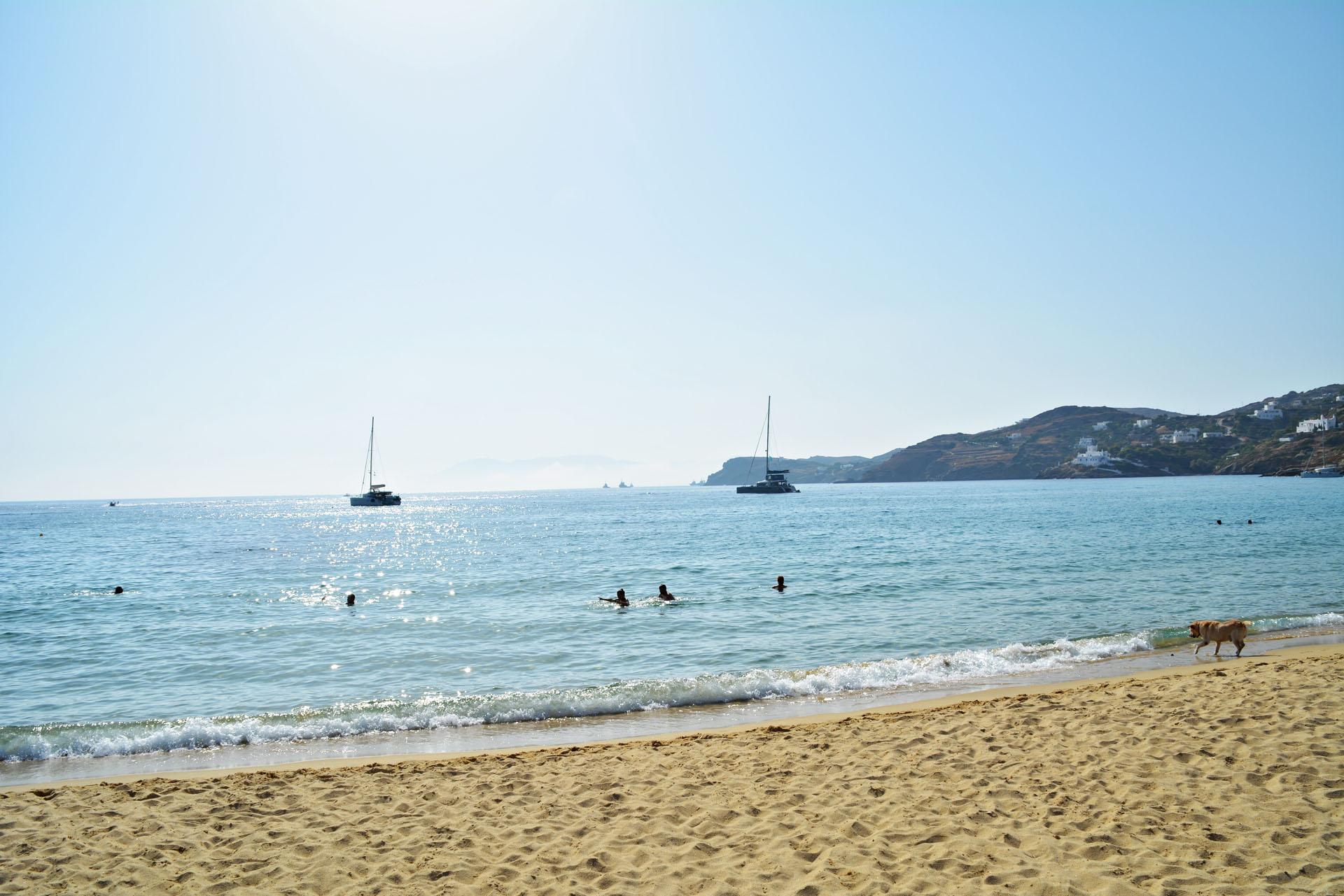 Plaża na Ios