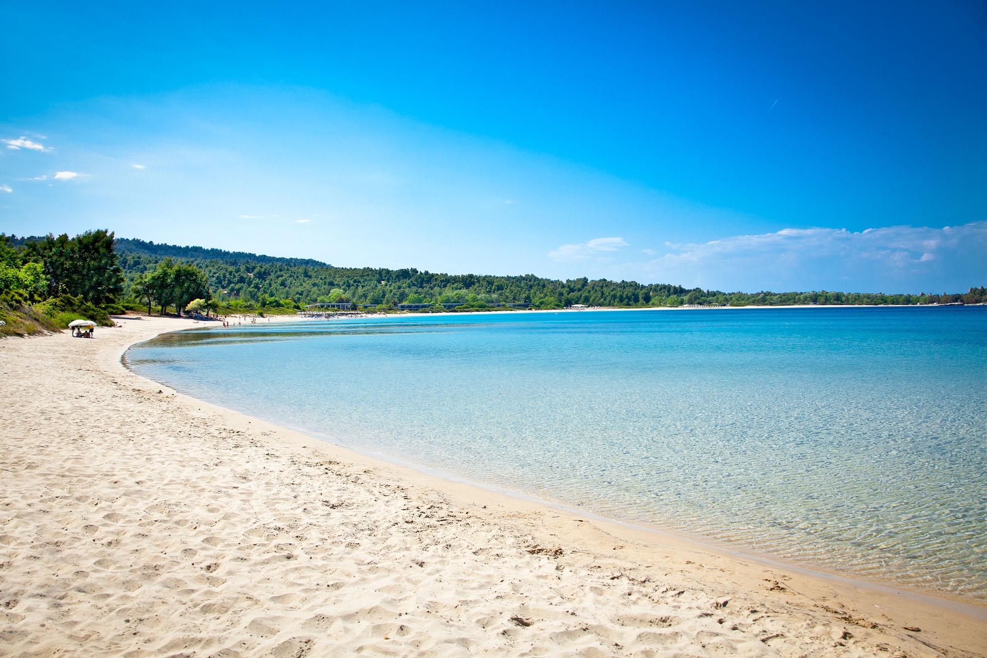 Paliouri plaża, Chalkidiki
