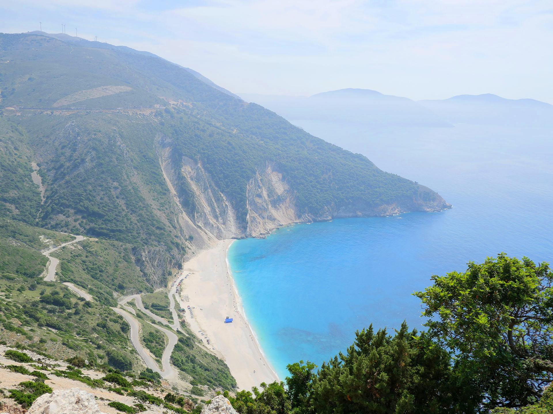 Plaża Myrtos na Kefalonii