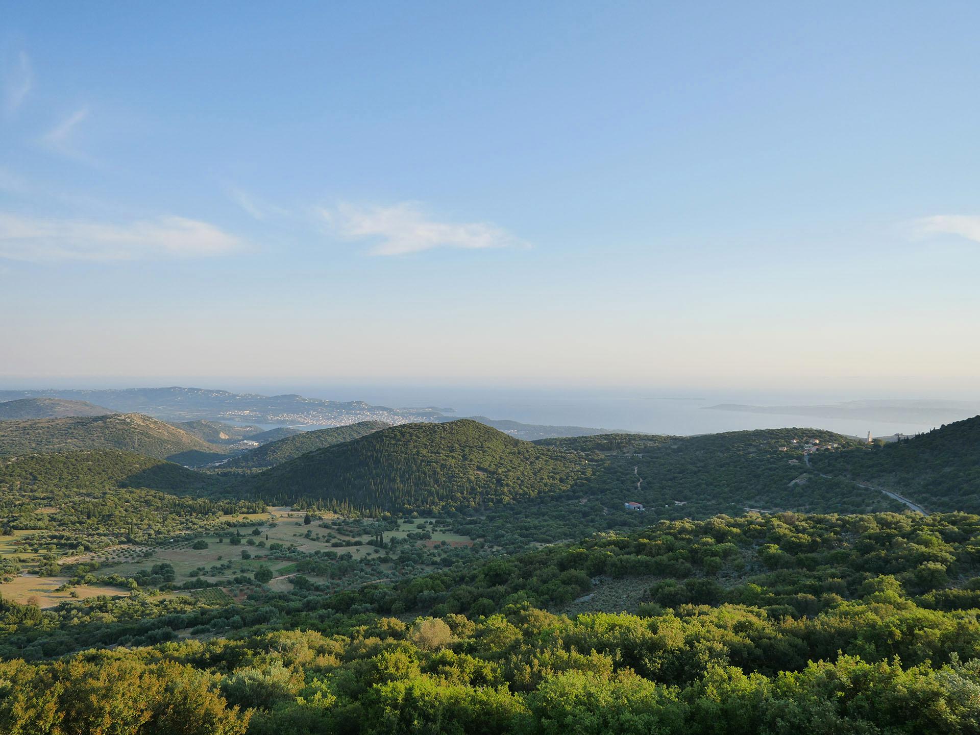 Krajobrazy na Kefalonii