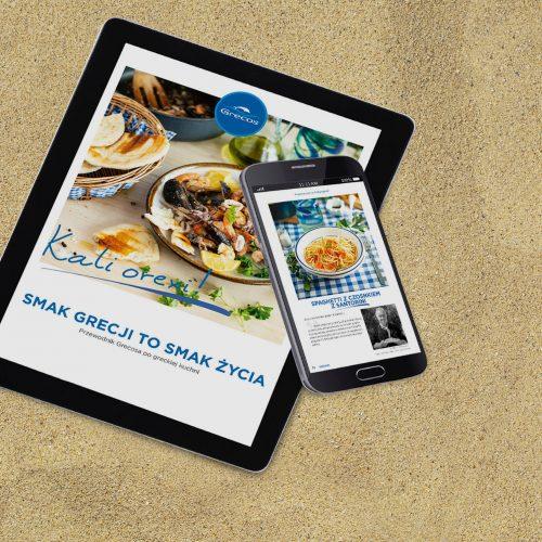 E-book kulinarny na plaży