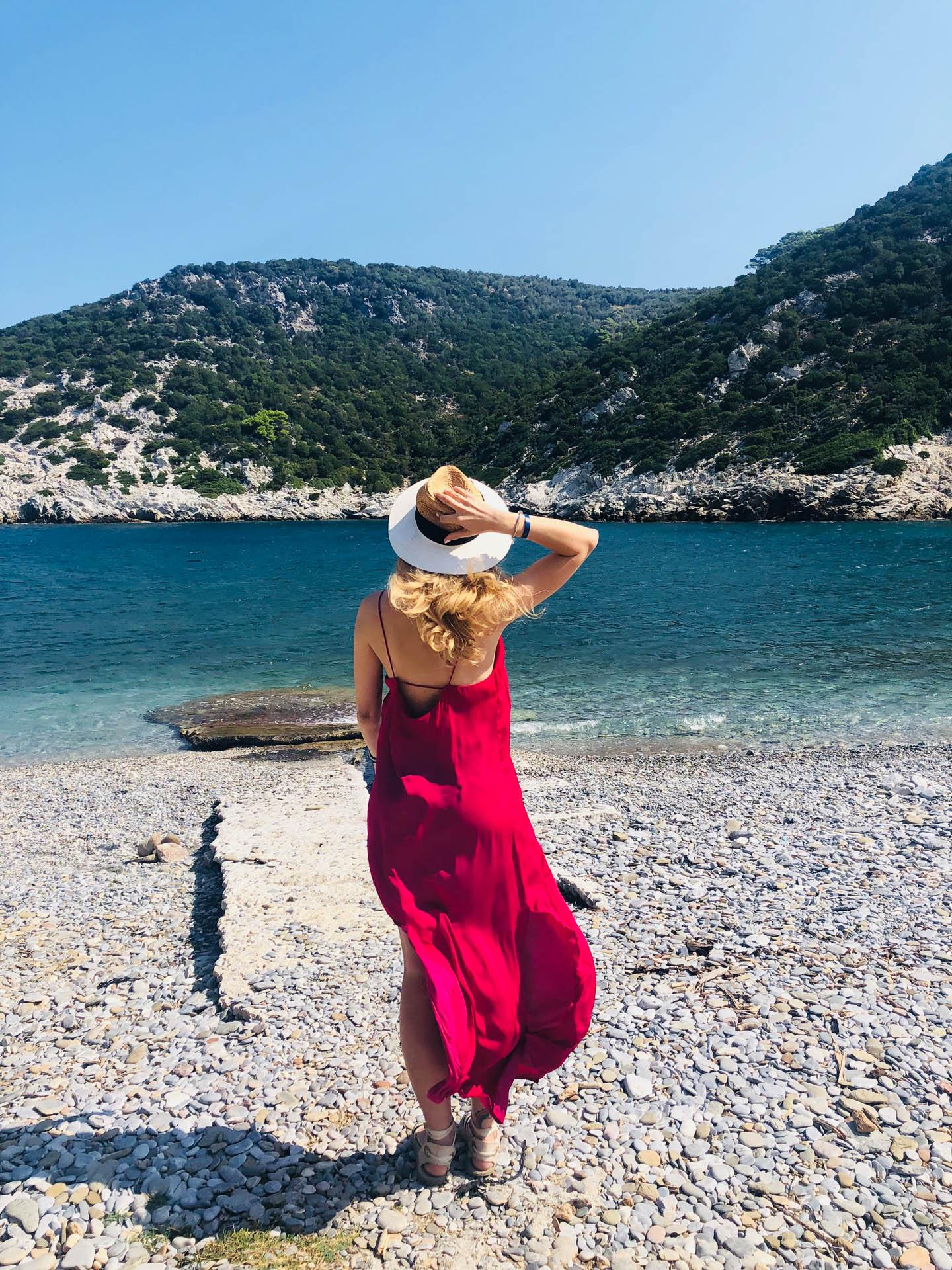 Plaża na Skopelos