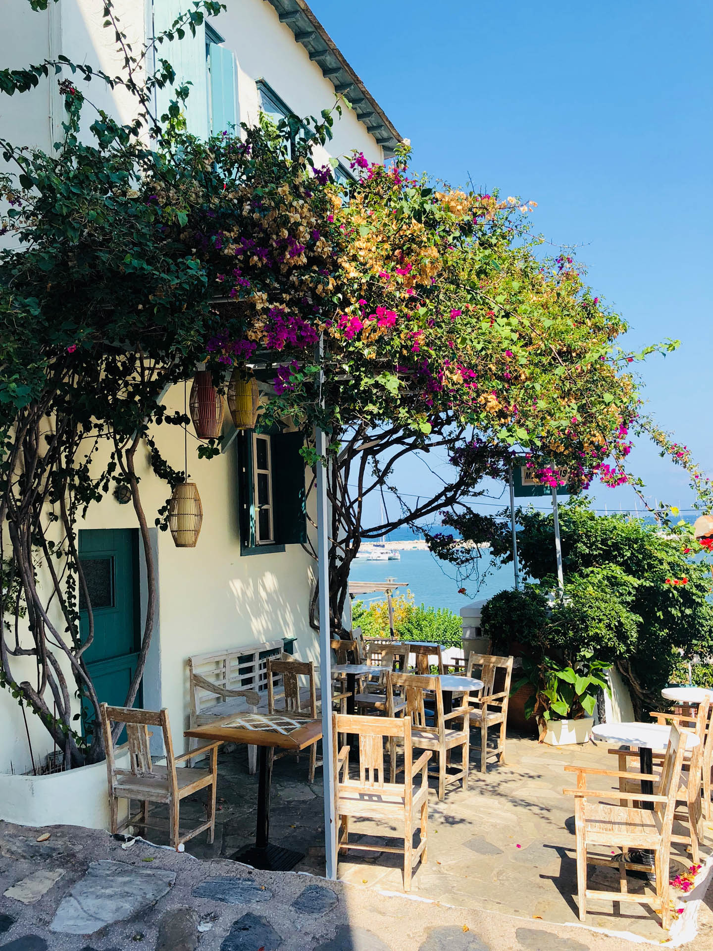 Restauracja w Skiathos