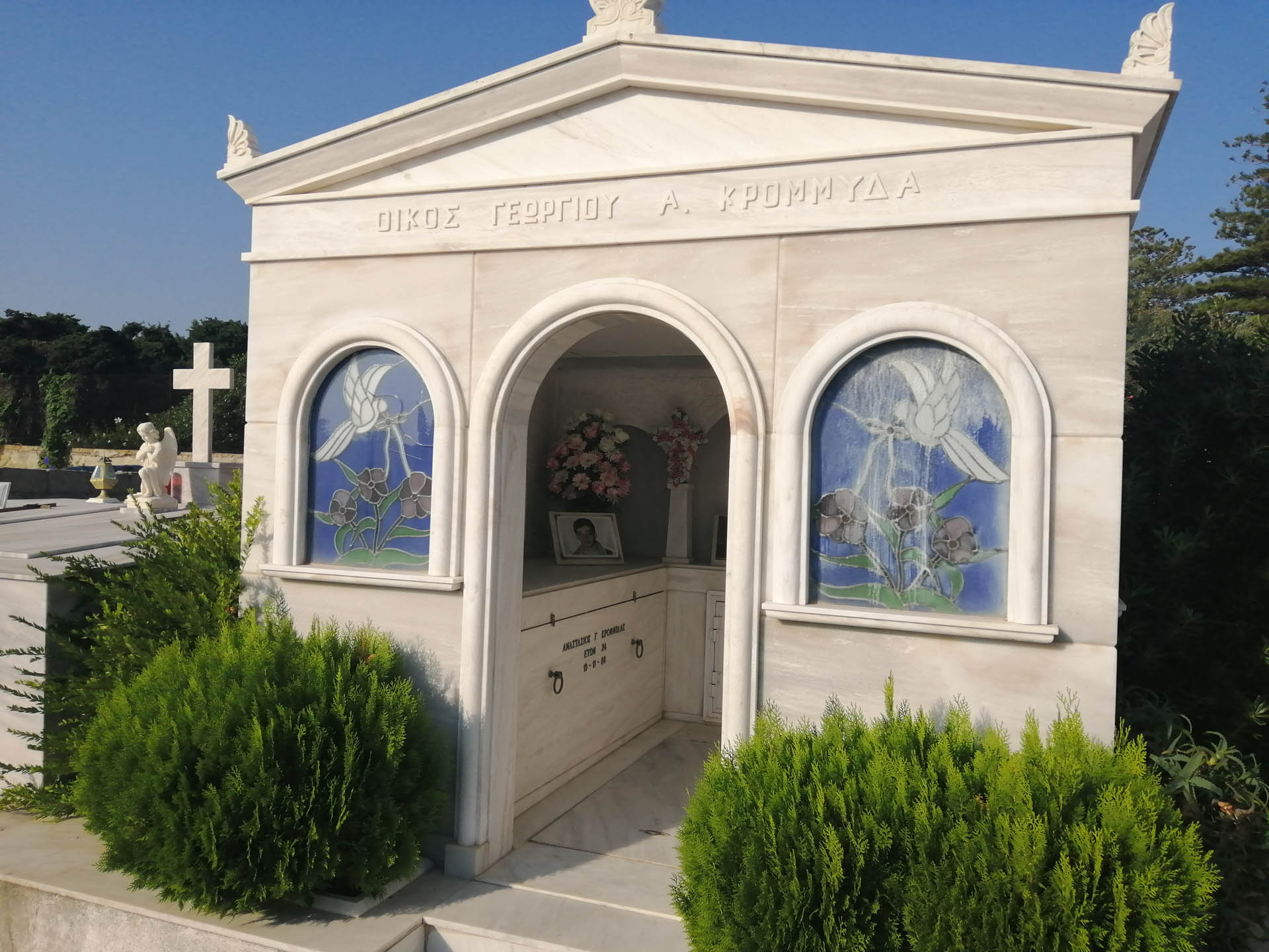Ossuarium w Rodos